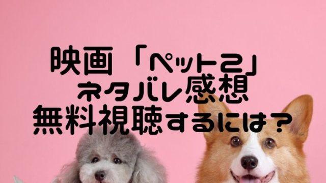 映画「ペット2」ネタバレ感想