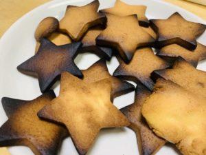 家でお菓子作りクッキー