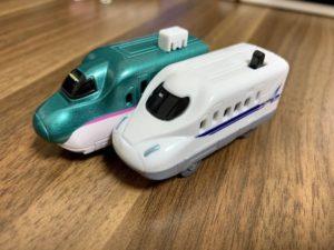 カプセルプラレールのモーター車両
